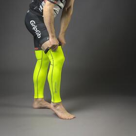 GripGrab Classic Thermal Hi-Vis Leg Warmers Fluo Yellow